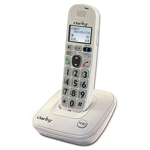 Clarity D704 40db Amplified/Low Vision Cordless Phone with CID Display