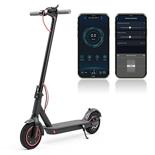 Electric Scooter Adult, 350W Motor, 10.4Ah, Foldable E-Scooter with...