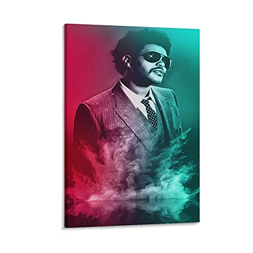 The W.e.e.k.n.d XO Starboy Poster Stampa The Weekend Trilogy Rap Rock Hip Hop DJ (39) Stampa artistica su tela e Wall Art Stampa Moderna Camera da Letto Famiglia Poster Decor 50 × 75 cm