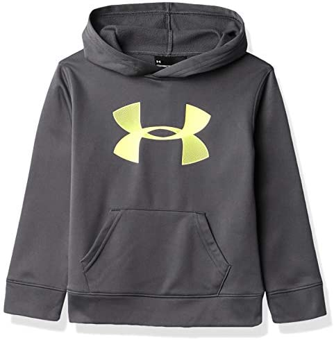 Under Armour Boys UA Hoodie Pitch Gray 5 product image