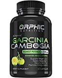 Pure Garcinia Cambogia Extract - Appetite Suppressant - Carb Blocker Capsules - 90 Caps