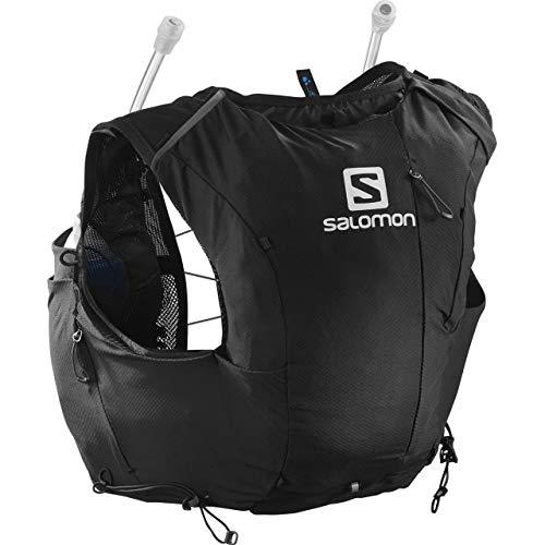 SALOMON ADV Skin 8 Set W Bolsa de hidratación, Mujeres, Black/Ebony (Multicolor), S