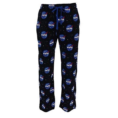 Bioworld Men's Cotton Jersey NASA Lounge Pants, Small, Multi