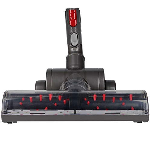 Maxorado - Boquilla turbo para aspiradora compatible con Dyson V8 V7 V10 SV10 SV11 DC05 DC08 SV06 DC41 DC44 DC23 DC23T2 DC24 DC26 DC29 DC52 DC62 V10