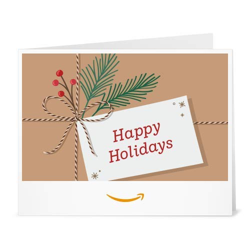 Amazon Gift Card - Print - Gift Tag Greetings