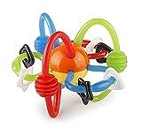 Infantino Mordedor y sonajero multi sensorial, multicolor