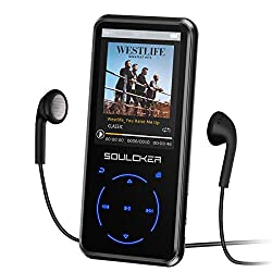 cheap MP3 player, 16GB MP3 player with Bluetooth 4.0, portable HiFi audio music player …
