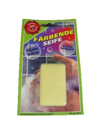 ERFURTH FUN Handseife auf Karte, 27 g, Mehrfarbig, Einheitsgröße