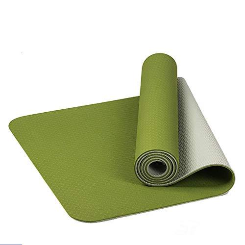 brandless Tappetino YogaTPE6Tappetino daAllenamento a Colori Haomi per Cuscinetti inodore per l'ambiente Palestra Verde