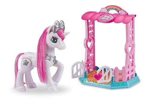 Pets Alive My Magical Unicorn in Stable (White) Electronic Pet by ZURU