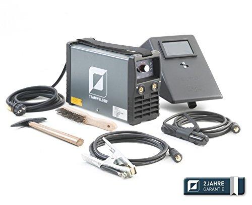 Teamwelder MMA 160 tragbar Elektroden Inverter Schweißgerät SET