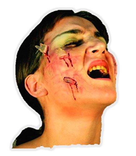 Generique - Fausses blessures Verre Adulte