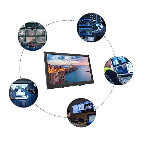 Preisvergleich Produktbild Jacksking 15, 6 Zoll Monitor,  4K 3840 * 2160 UHD Ultradünner Monitor Weitwinkel IPS Vollwinkel 16: 9 Screen Gaming Monitor,  5 ms,  aktualisierte Version(EU 100-240V)