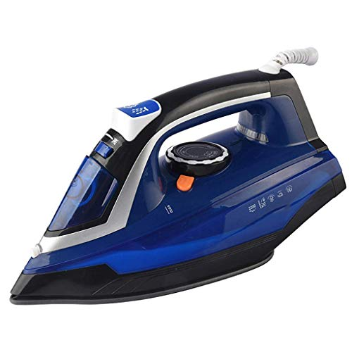 Stoomstrijkijzers Light Weight Clothes Steamer Handheld Portable Reisstrijkijzers 2200W 350ml Water Tank verticale en horizontale Garment Steamer Great Strijkijzer, Blue2200W 350ml strijkplanken 8bayf