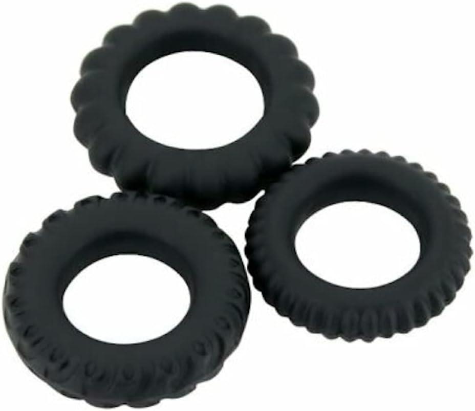 BoHBoDa 3 Stretchy Silicone Shaft Pleasur Enhancer Prolong Delay Limited Special shop Price