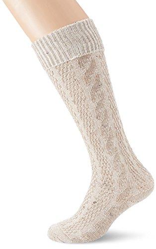 Stockerpoint Herren Trachten Socken Strümpfe 54061, Gr. 35/38 (Herstellergröße: 1), Braun (mokka)