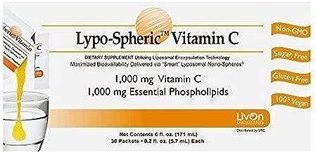 Lypo-Spheric Vitamin C - 30 Packets 1,000 mg Vitamin C Per Packet