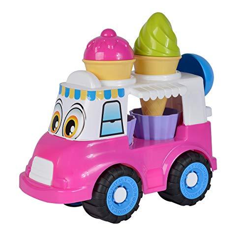 Simba- Eiswagen/Sandspielzeug / 7 Teile Carro de Hielo/Juguete de Arena / 7 Piezas, Color 1. (107134506)