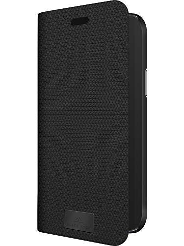 Black Rock - Hülle Booklet Klapphülle Hülle Passend für Apple iPhone 12/12 Pro | The Standard Handyhülle, 360 Grad Cover, Magnet Verschluss (Schwarz)
