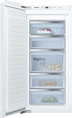 Bosch GIN41ACE0 Serie 6 - Congelador empotrado (A++, 122,5 cm de altura, 188 kWh/año, 127 L, NoFrost y BigBox)