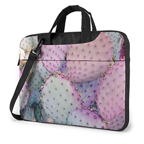 Plant Cactus Laptop Shoulder Bag Compatible with 13-15.6in Laptop MacBook Pro Carrying Handbag