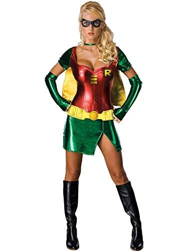 Adults ADULT WOMENS SEXY ROBIN GOTHAM GIRL BATMAN HALLOWEEN FANCY DRESS COSTUME-X-SMALL (disfraz)