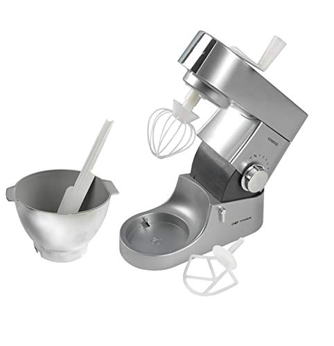 CASDON Little Cook 63502 Kenwood Toy Mixer, Silver/Chrome Effect