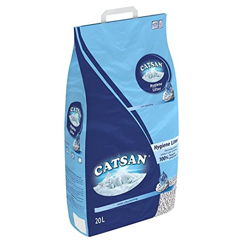 Catsan Hygiene-Katzenstreu, nicht klumpend, 20 l
