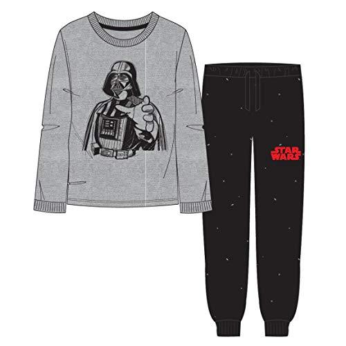 Artesania Cerda Pijama Largo Star Wars Conjuntos, Gris (Gris