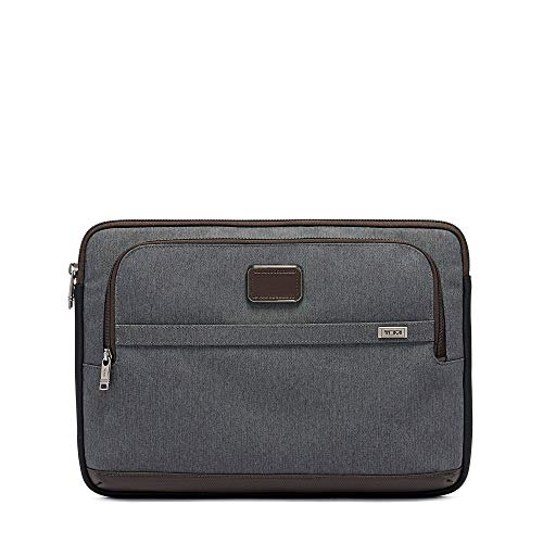 TUMI - Alpha 3 Large 15 Inch Laptop Cover - Computer Case for Men and Women - Anthracite
