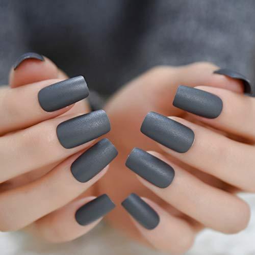 URTJSDG Faux Ongle Extra Long Nail Extreme Stiletto Sharp Gradient Nude White 24 Faux Ongles Ongles en Acrylique Conseils De Manucure