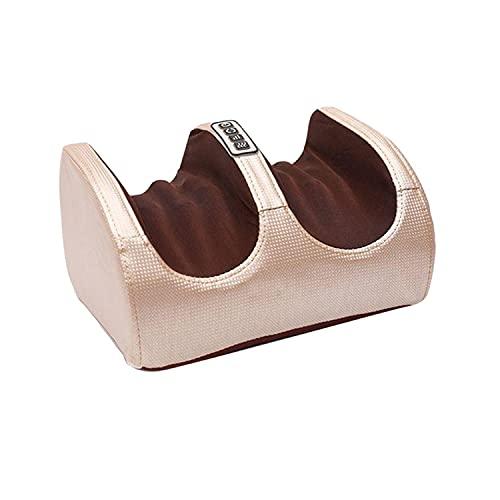 foreverH Fußmassagegerät Elektrisch Fussmassagegerät mit Wärmefunktion Shiatsu Fussmassage, Kneading Rollen, Luftkompression für Fußpflege zu Hause und Büro