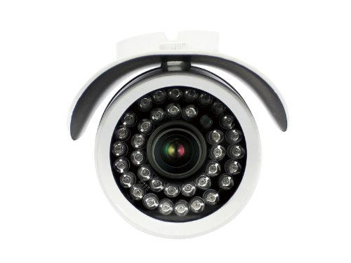 LOOK-COM LC-1136DR20 Weatherproof Bullet Security Surveillance Cameras (White)