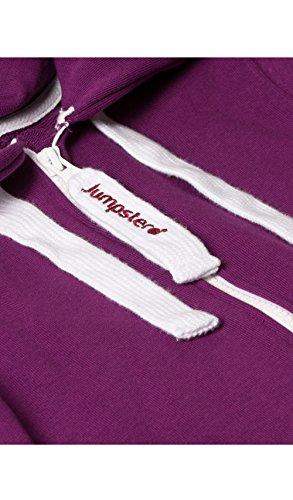 Jumpster Jungen und Mädchen Jumpsuit Kinder Overall Kids Deepest Purple - 4