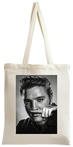 Elvis Presley Blows Coke Cocaine Drugs Rock n Roll Tote Bag