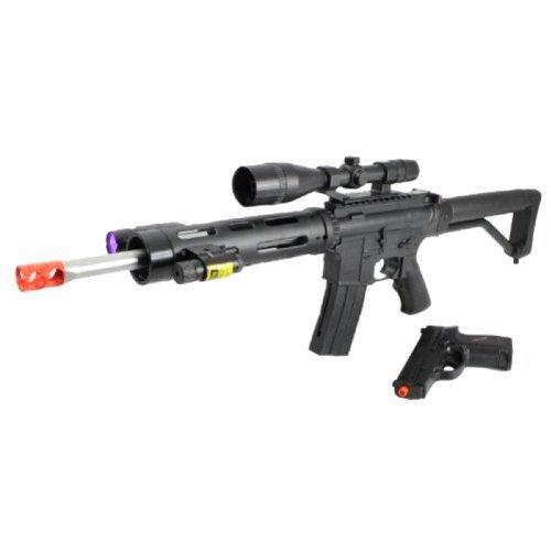 Ukarms P1136 Spring Airsoft Gun FPS-280 Free Pistol Combo(Airsoft Gun)