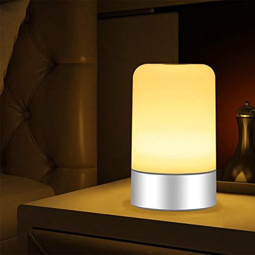 Flexibele leeslamp op de nek, elektrisch nachtlampje, warmwit, nieuwste led-nachtlampje, bedlampje van siliconen voor kinderen, nachtlampje, verpleegster