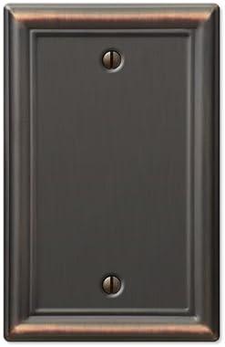 Amerelle 149BDB Century Steel Wallplate 1 Blank Wallplate Aged Bronze