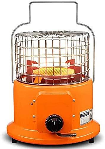 Calentador de Mesa para Patio, fogatas de Gas portátil con regulador de Gas propano, Manguera de 1,5 m, 2 Clips de Acero Inoxidable, Placa calefactora de cerámica de Panal para Acampar