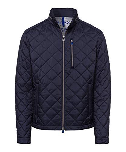 BRAX Herren Style Bruce City Stepp Jacke, Blau, Medium (Herstellergröße: 50)