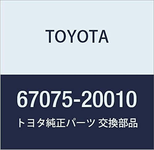 Toyota 67075-20010 Door Trim Sub Reflector Assembly Rapid rise Max 73% OFF