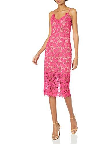 Bardot Women's Dress, Beetroot, Large (Apparel)