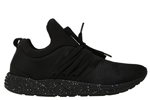 Arkk, Damen, Raven S-E15, Mesh, Sneakers, Schwarz, Schwarz - Schwarz - Größe: 36 EU