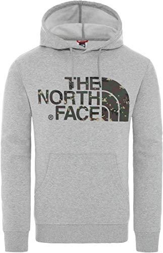 THE NORTH FACE Standard Kapuzenpullover Herren grau, M