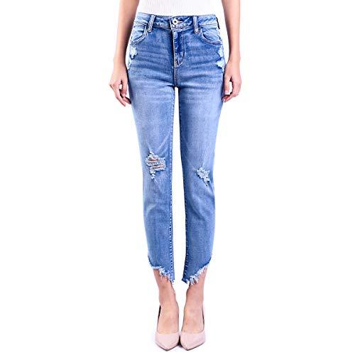 CHILY&BILIE Slim Fit Jeans Skinny Donna, Light Blu Washed