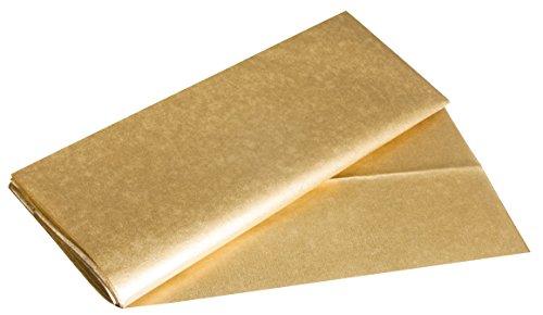 Rayher 67273616 Seidenpapier Metallic, silber,  50x70cm, 3 Bogen, 17g/m², lichtecht, farbfest, leicht transparentes, dünnes Papier, Geschenkpapier, Papier zum Basteln
