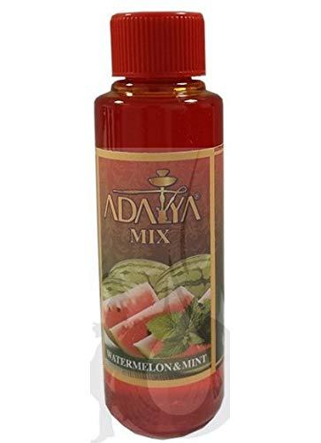 Melaza Adalya Watermelon Mint para shisha SIN NICOTINA - Sabor: Sandía y Menta (170 ml) - Sustitutivo de tabaco sin nicotina para cachimba