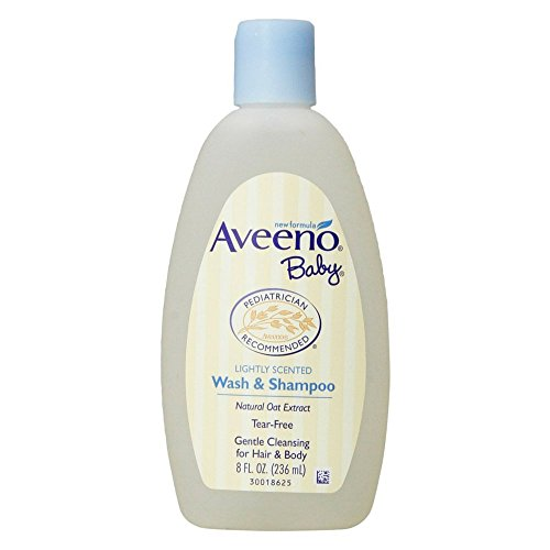 4. Aveeno Baby Body Wash and Shampoo