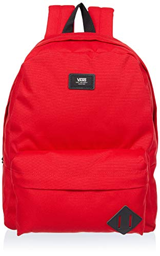 Vans Unisex-Erwachsene Mn Old Skool Ii Back Rucksack, Rot (Racing Red)