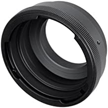Fotodiox Lens Mount Adapter Compatible with Pentacon 6 (Kiev 60) Lenses to Nikon F-Mount Cameras